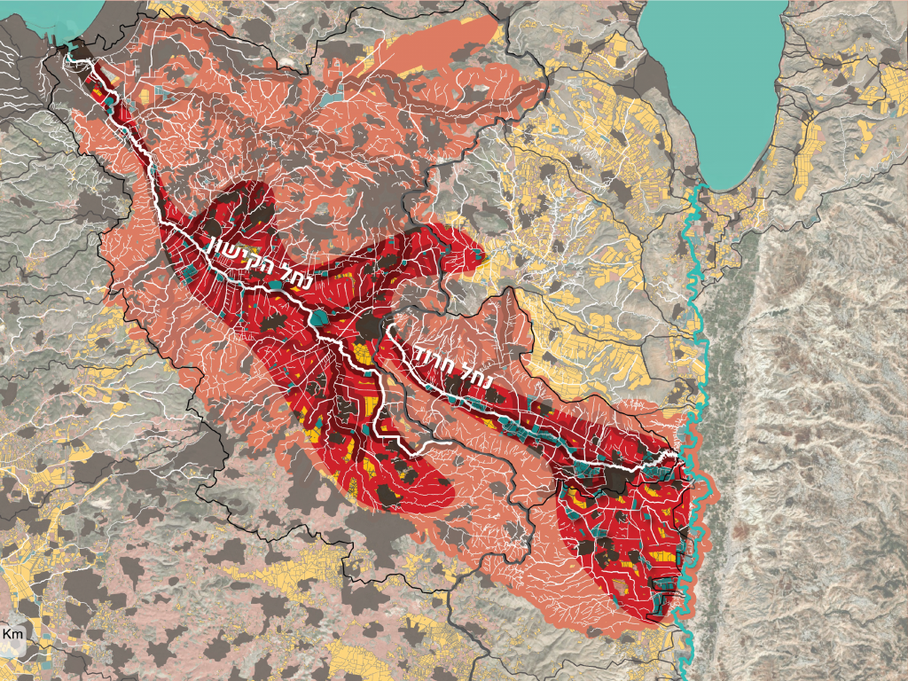 בין קו למרחב: עמק יזרעאל כמסדרון אקולוגי אקווטי