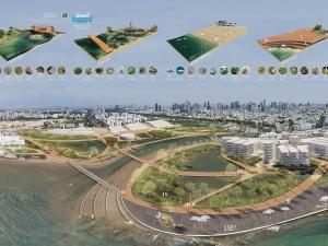 מלאכת הירקון. תכנון מרחב שפך עירוני המחזק את החוסן הסביבתי ב-Waterfront  של תל-אביב
